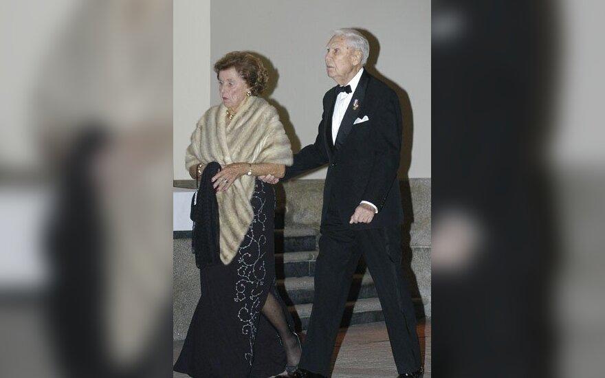 Aleksandra ir Juozas Kazickai