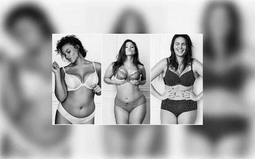 ФОТО: Модели plus-size снялись в купальниках для новой кампании о внешности