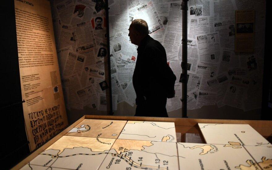 GULAGo muziejaus Maskvoje atidarymas