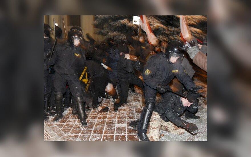 ЕП критикует Минск за избиение лидеров оппозиции