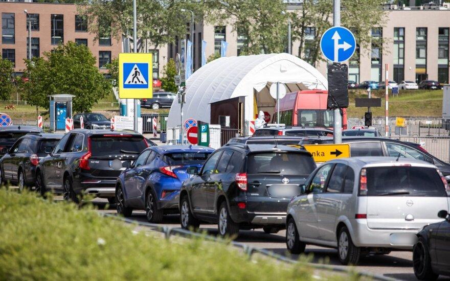 Mobiliosios patikros punktas Vilniuje