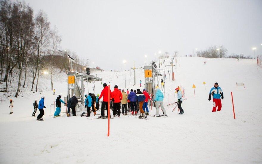 Любителей зимних развлечений в Вильнюсе возмутили цены