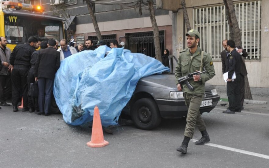 Irane susprogdintas branduolinės fizikos specialistas