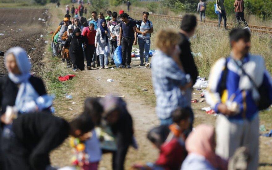 Венгрия стягивает военных к границе с Сербией, чтобы ее закрыть