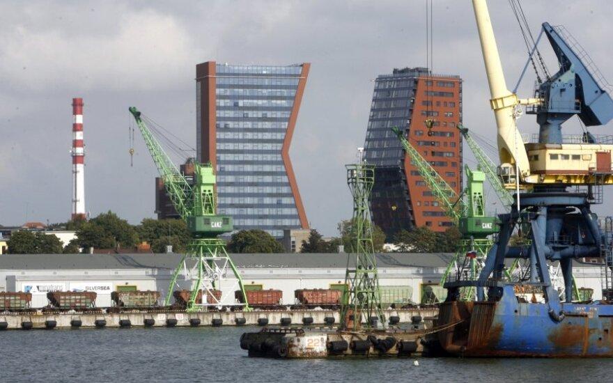 В этом году Клайпедский порт обслужит меньше грузов, чем планировал
