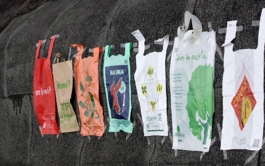 В Литве вступил в силу новый запрет: в магазинах запрещено бесплатно раздавать полиэтиленовые пакеты