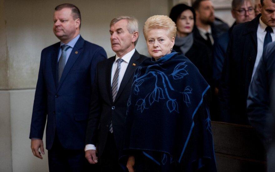 Президент Литвы призывает ведомства открыть данные для СМИ и общественности