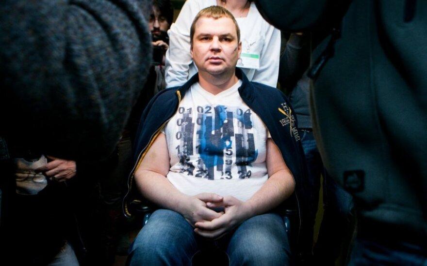 Украинский активист Булатов находится на пути в Германию