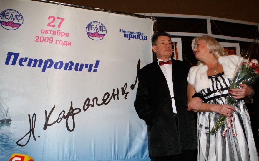 Никас Сафронов осудил вдову Николая Караченцова за праздный образ жизни