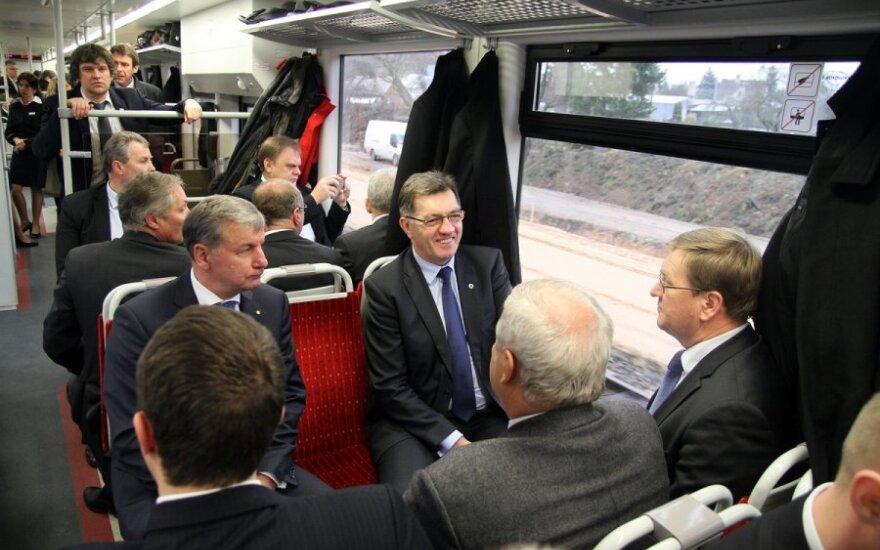 Премьер Литвы: относительно Rail Baltica нужно договориться любой ценой
