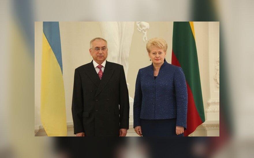 В Литве вступил в должность новый посол Украины