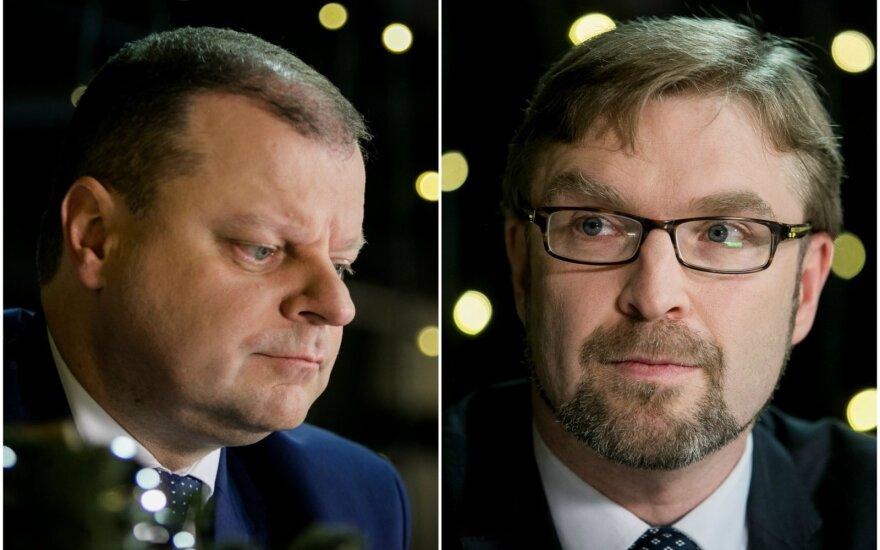 """Сквернялис и Кукурайтис обсудят вопрос """"детских"""" денег"""