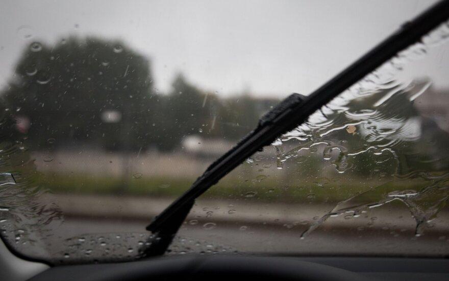 Погода: ожидается дождь и высокая облачность