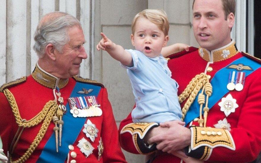 ФОТО: Маленький принц Джордж растрогал британцев