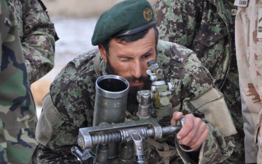 МО США подарит литовским военным в Афганистане военное оборудование за 31 млн. литов