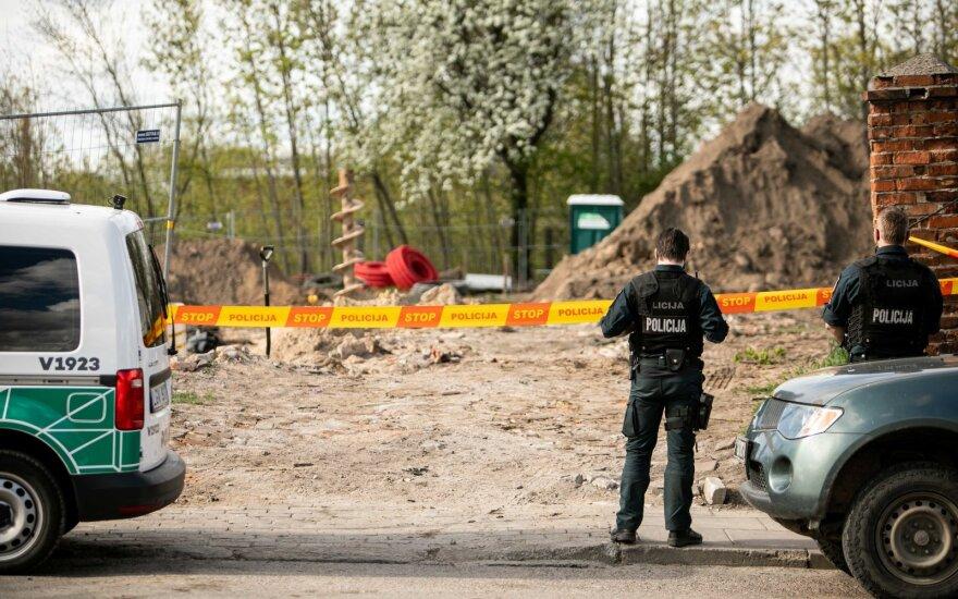 В Вильнюсе обнаружен снаряд, перекрыты три улицы