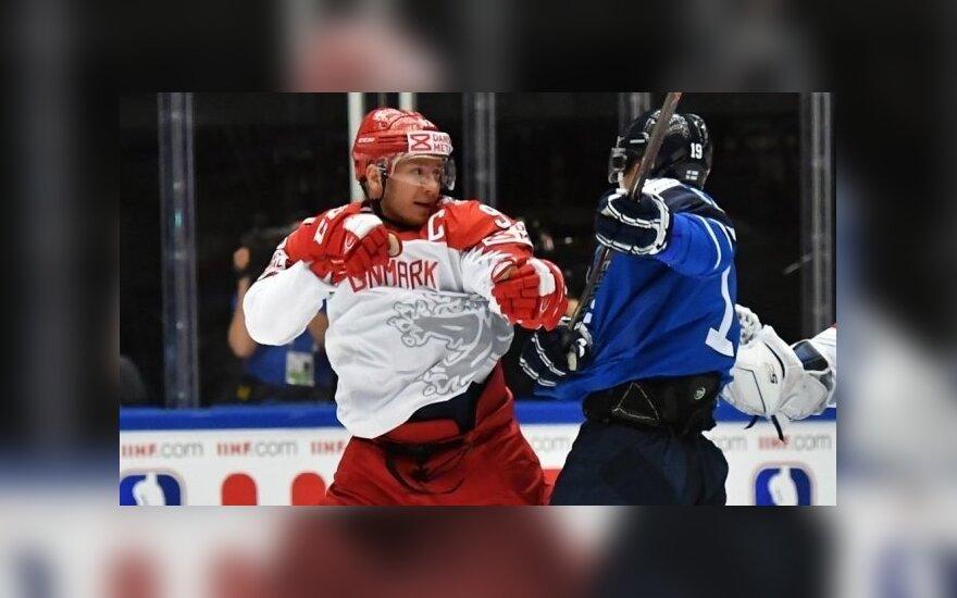 Первая сенсация на чемпионате мира по хоккею: Дания обыграла Финляндию