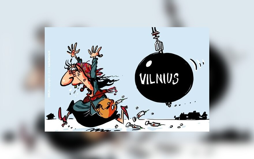 Глава столичной полиции: проблемы Вильнюсского табора – отрастающие головы Змея Горыныча