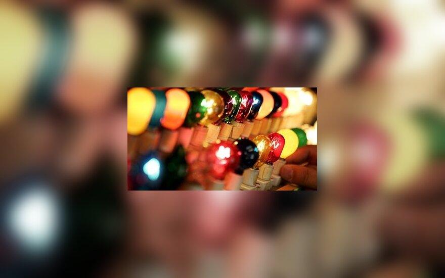 Elektros lemputės.