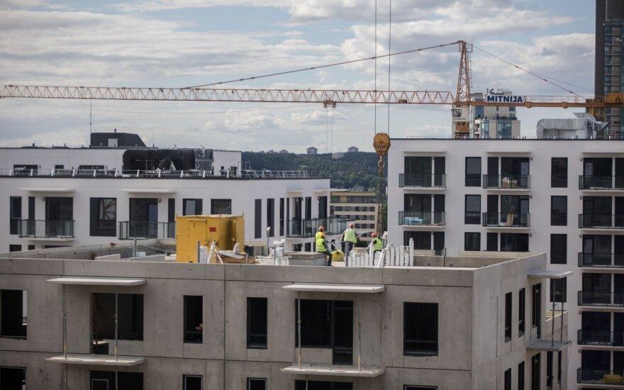 В строительном секторе Литвы назревает кризис?