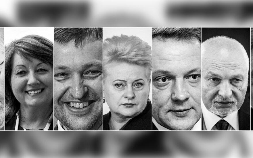 """<span style=""""color: #ff0000;""""><strong>DELFI представляет</strong></span>: Самые влиятельные политики Литвы"""