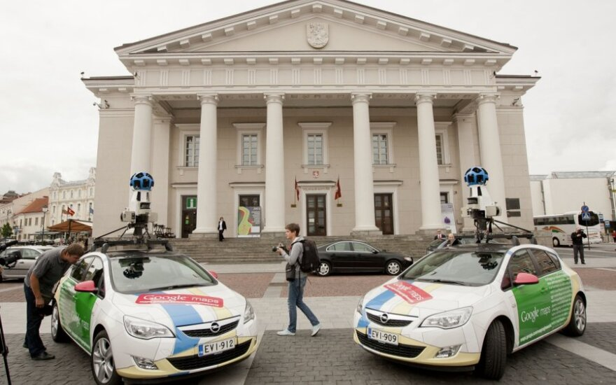 В Литве снова появятся автомобили Google Street View