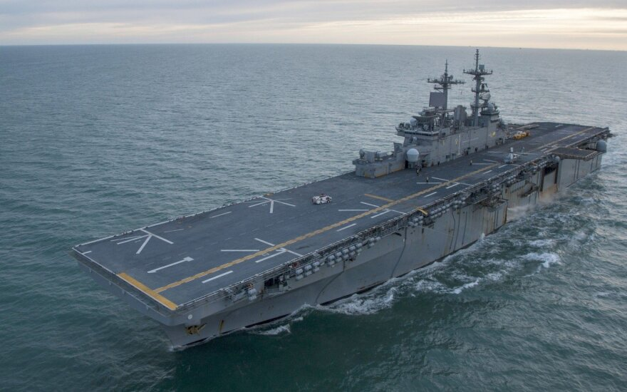 "JAV laivas ""USS Wasp"""