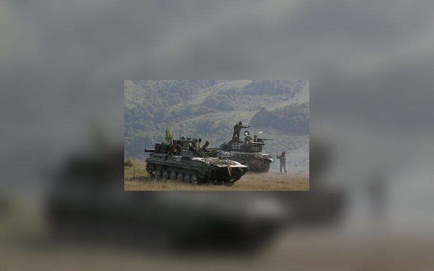 """Россия разместила в ЮО артиллерию """"Смерч"""""""