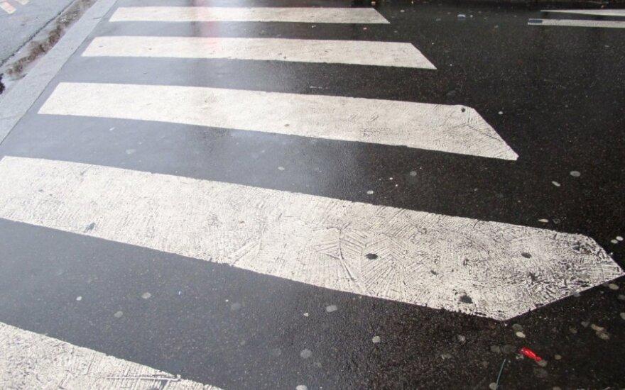 На пешеходном переходе пострадал ребенок