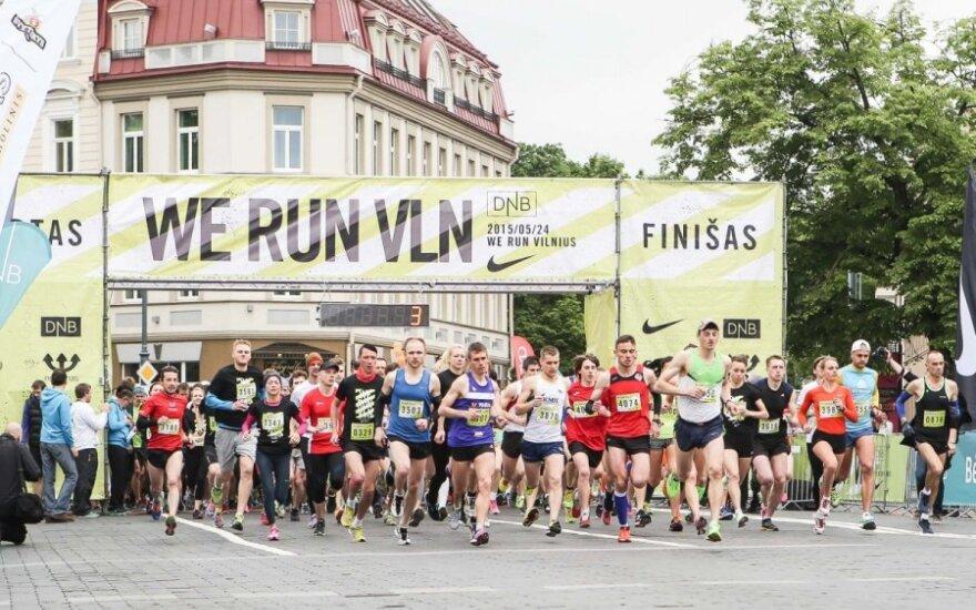 Bėgimas We run Vilnius