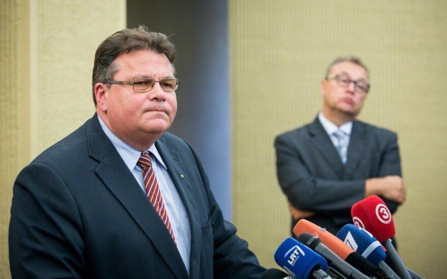 Linas Linkevičius ir Artūras Žurauskas