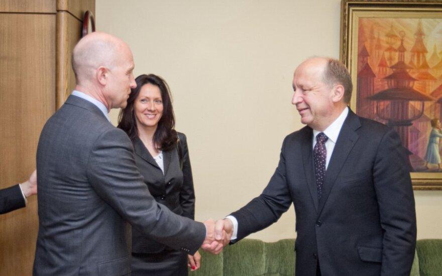 Kubilius spotkał się z prezesem PZU