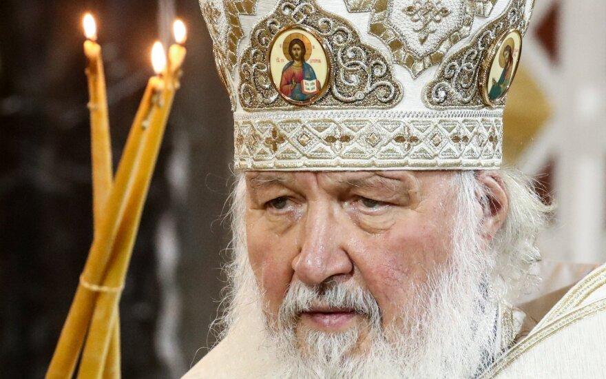 У патриарха Кирилла нашли часы с бриллиантами за 16 тысяч долларов