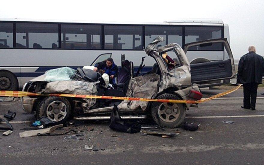 За неделю на дорогах Литвы погибли 11 человек, 87 пострадавших