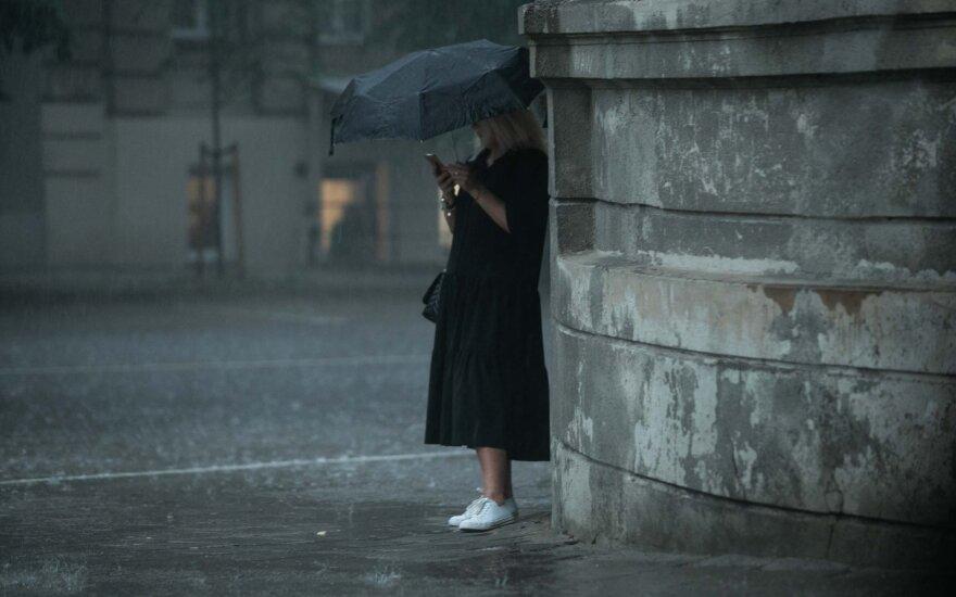 В Литву идет циклон: погода изменится мгновенно