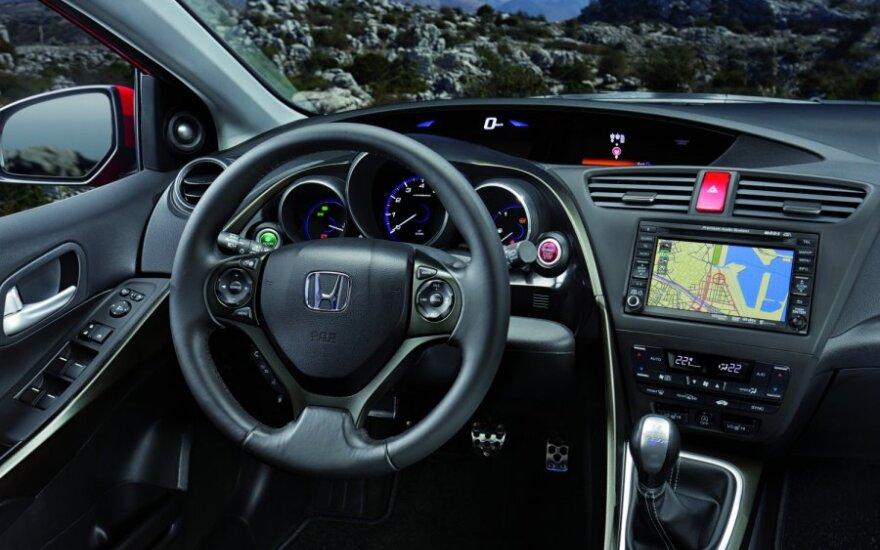 Honda Civic 5D: черепашка подросла