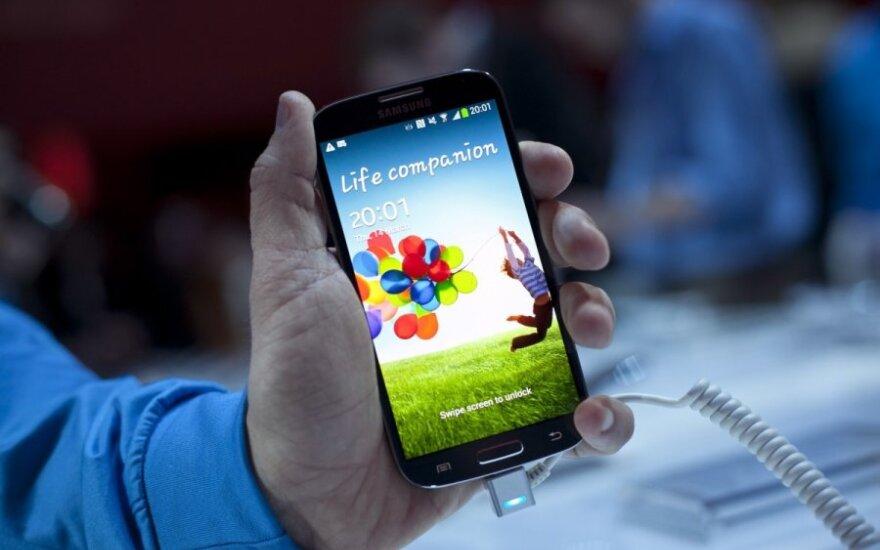 """Samsung Galaxy S4"" pristatymas"