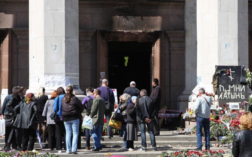 В Одессе вспоминают жертв трагедии 2014 года: в городе — напряженная обстановка