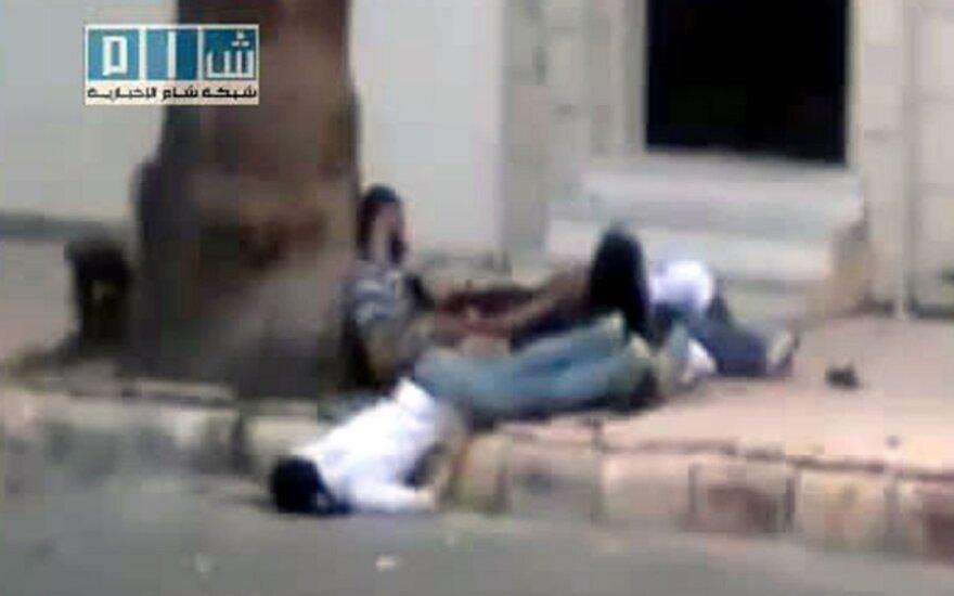 Nušauti žmonės Sirijoje