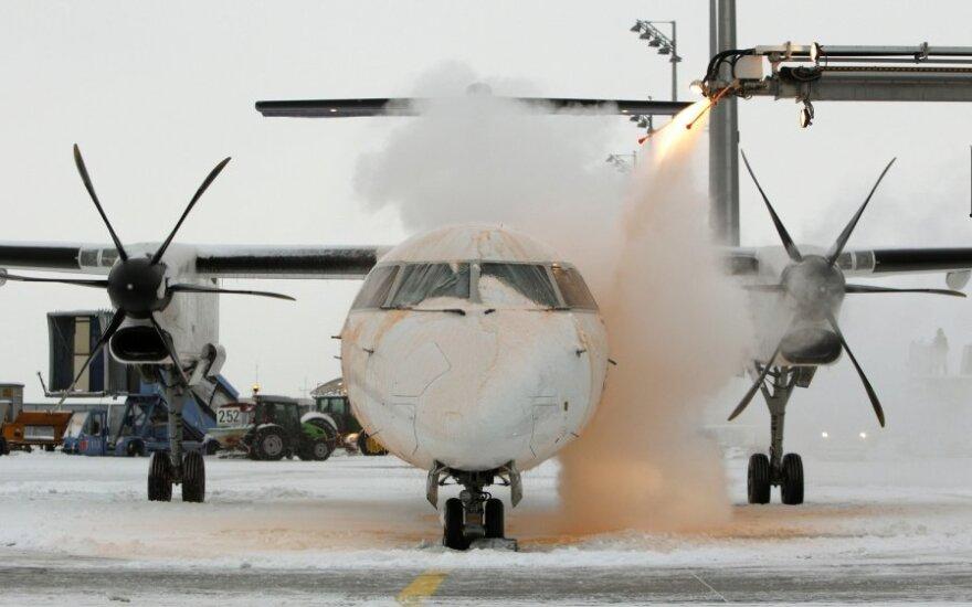 В аэропорту Франкфурта-на-Майне отменено 500 рейсов