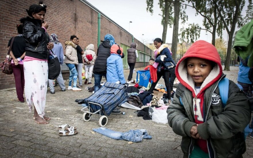 В Нидерландах вспыхнули протесты против центра для беженцев