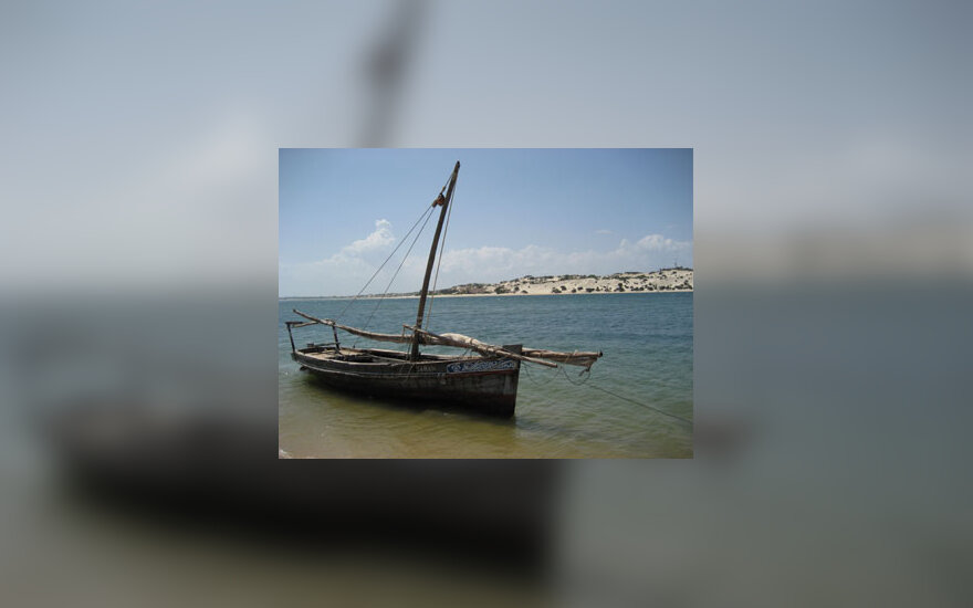 Tradicinė valtis, Lamu salos, Kenija