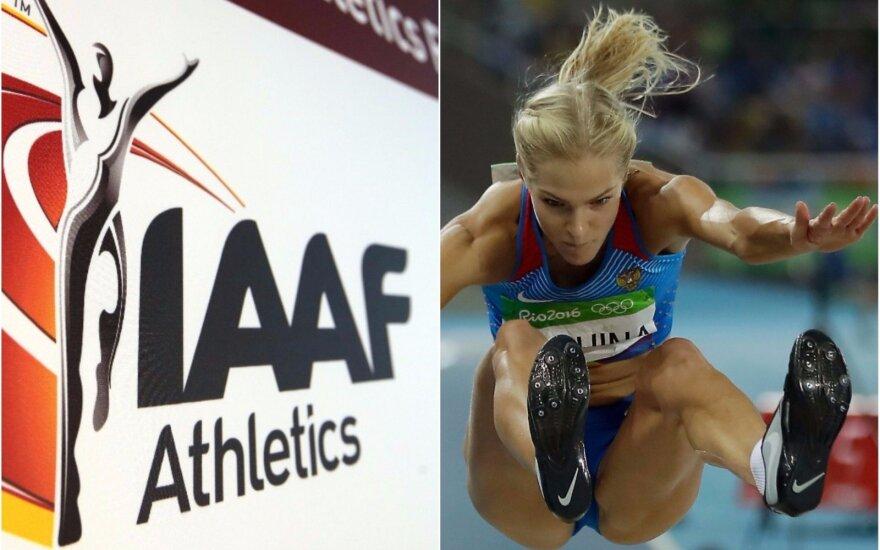 IAAF, Darija Klišina