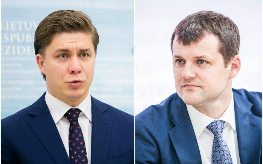 Во втором туре выборов лидера СДПЛ – Палуцкас и Синкявичюс