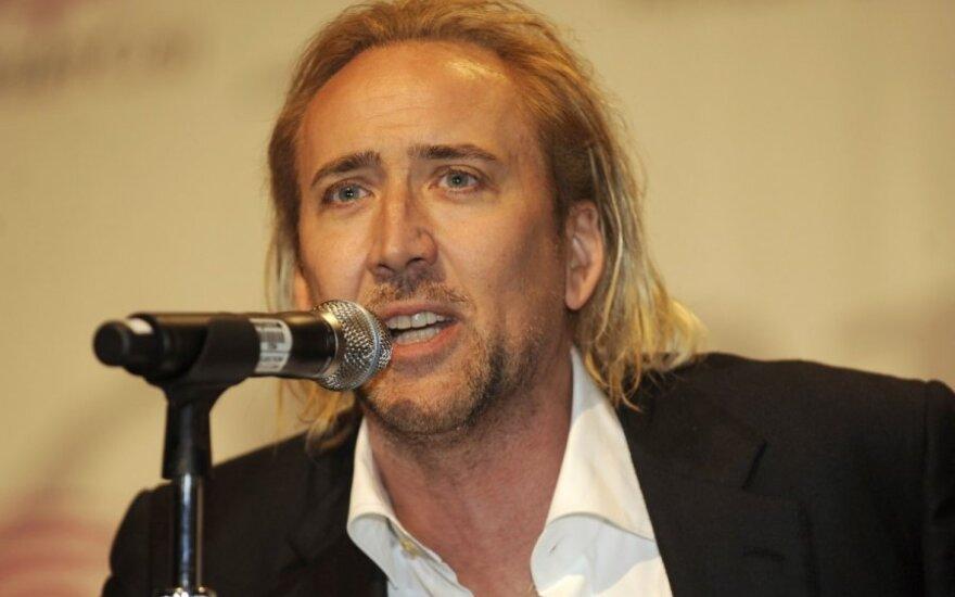 Nicolas Cage w hotelu 33