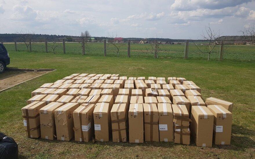 В поле зрения парламента – рост контрабанды сигарет из Беларуси