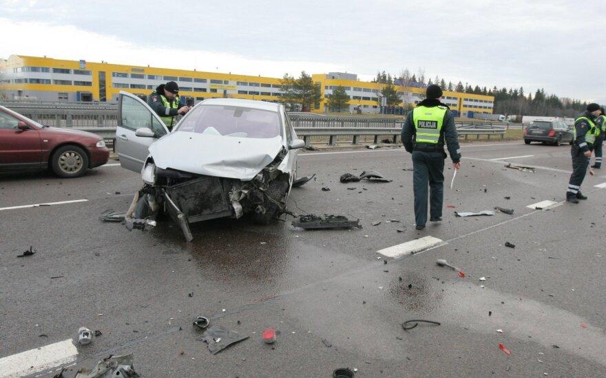 Авария у Вильнюса - в больницу доставлена вся семья