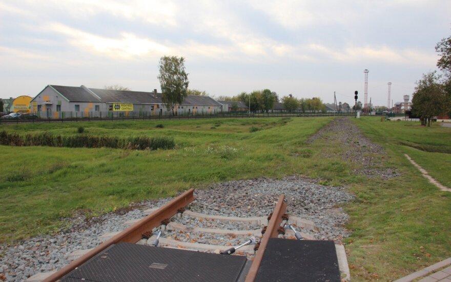 Завершаются работы по восстановлению участка железной дороги в Латвию