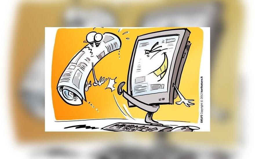 Опрос: читатели предсказывают смерть печатных СМИ
