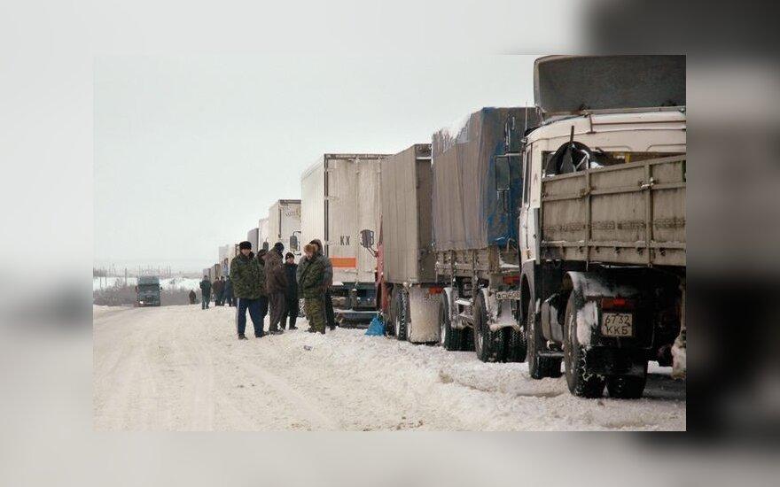 """На трассе """"Россия"""" образовалась многокилометровая пробка"""